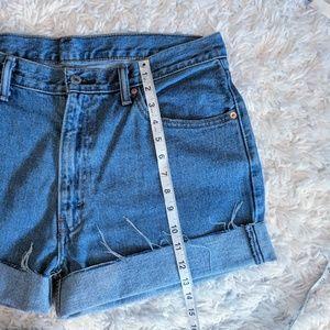 Levi's Shorts - VTG HIGH WAIST LEVI'S